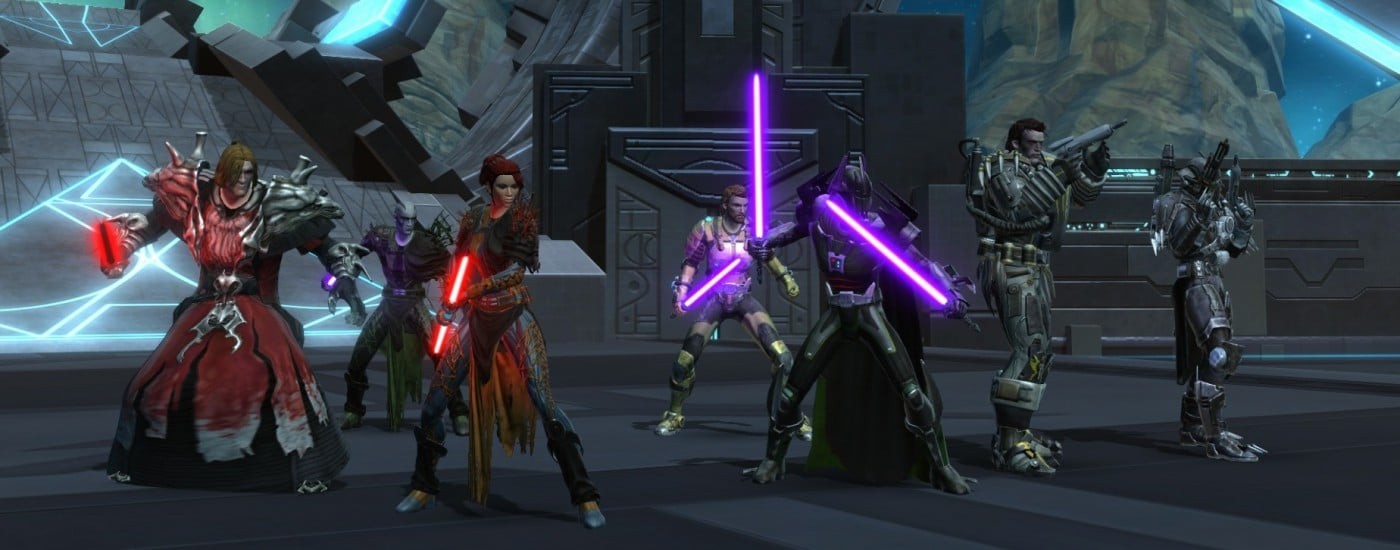 an analysis of the concept of the video game star wars the old republic How do you follow a game like knights of the old republic, the most famous original star wars tale a video game has ever told forget about obsidian's seque.